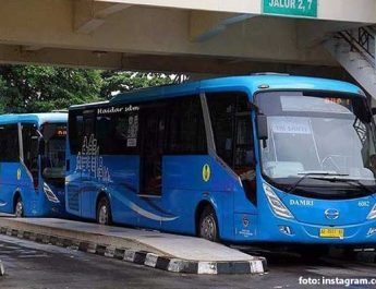 Bus Interkoneksi Damri Jogja