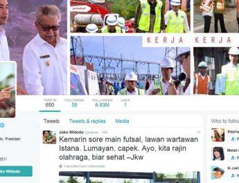 Twitter Presiden Joko Widodo