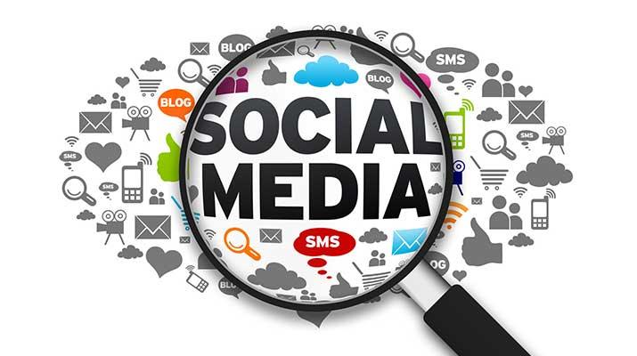 ilustrasi sosial media