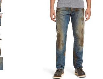 Celana Jeans Aneh