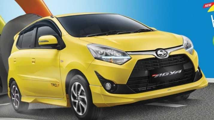 Toyota Agya Facelift 2017