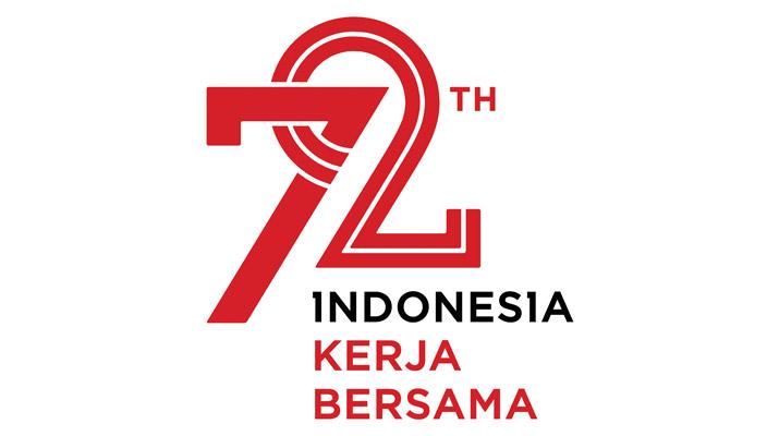 Logo HUT RI ke-72