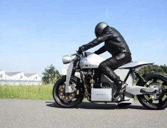 Sepeda motor listrik Ethec