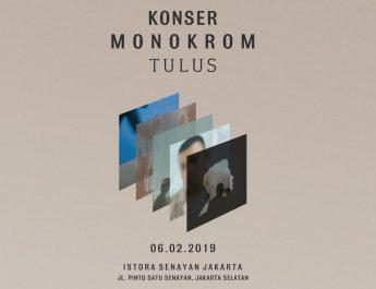 Siapkan Tiket Tambahan di Istora, Konser Monokrom TULUS Akan Buat Pengunjung Terkesima