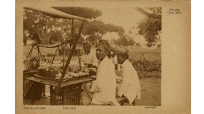 Hidangan Hik atau Angkringan di Jawa 1910