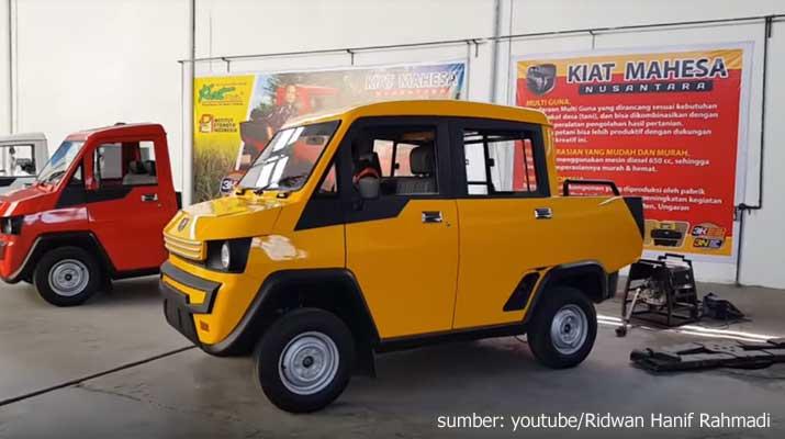 Mobil Pedesaan Kiat Mahesa