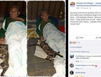 Nenek Buruh Gendong Pasar Beringharjo Tidur di Emperan Toko