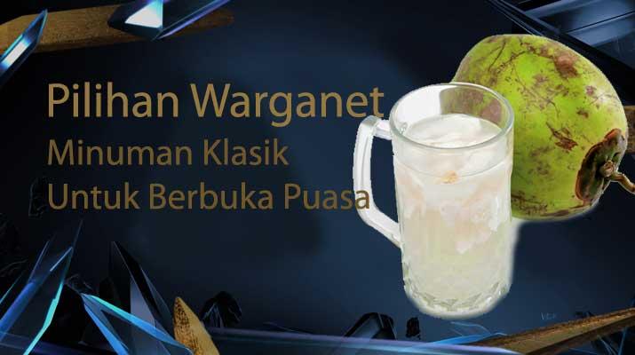 Minuman Klasik Untuk Berbuka Puasa
