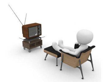 Ilustrasi Nonton TV (Sumber: Pixabay)