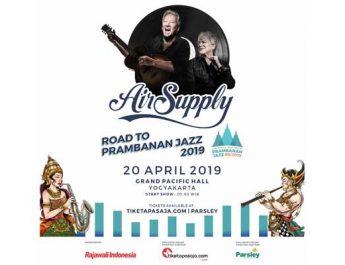 Road to Prambanan Jazz Hadirkan Air Supply di Yogyakarta
