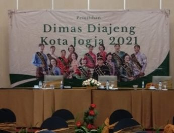 Dimas Rafif Dan Diajeng Bita Terpilih Menjadi Dimas Diajeng Kota Yogyakarta 2021